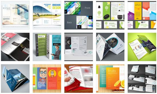 20 Free Tri Fold Brochure Templates To Download Interior