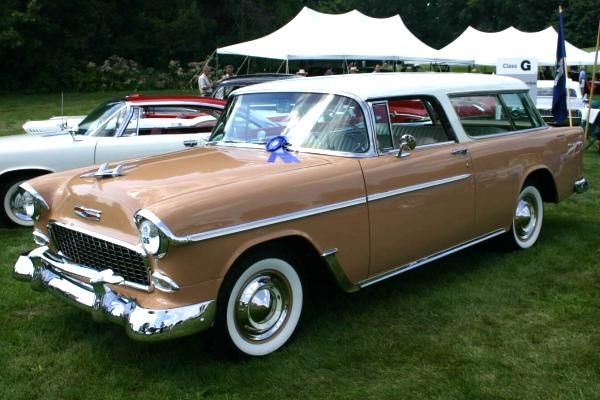 Classic Car Pictures On 1955 Chevrolet Chevrolet Best Station Wagons