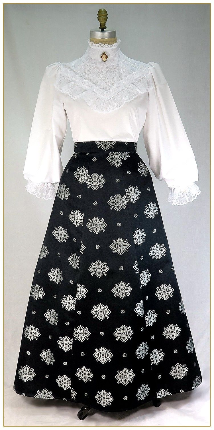 5465ddba95 Victorian Skirt Blusa Branca