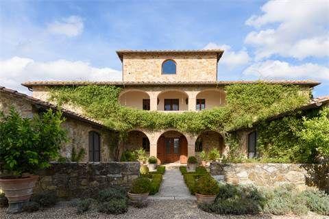 Lussuosa casa colonica toscana in Chianti   Milan Sotheby
