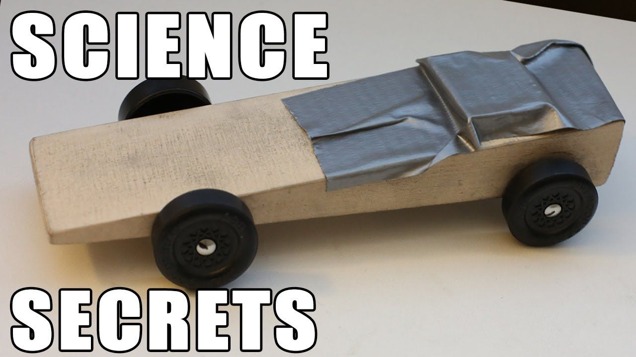 EASY Pinewood Derby Car WINS using Science!!! | Cub cars | Pinterest ...