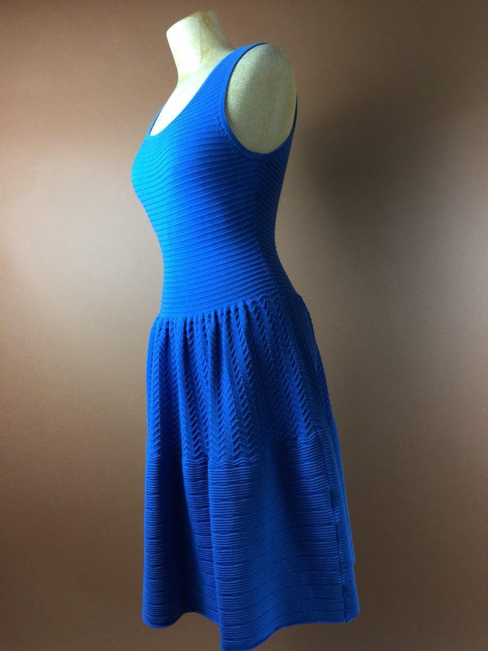 Pinup full gathered us vintage dress royal blue small us uk