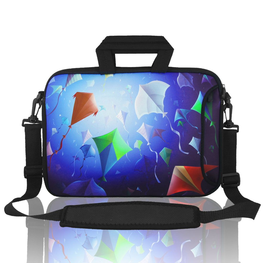 15 15.4 15.6 Kite Notebook Laptop Shoulder Bag Case w Handle for Dell Mac Pro