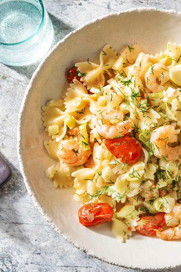 Photo of Dill Butter Shrimp with Leek & Fennel Recipe | HelloFresh