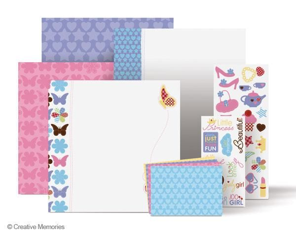Fabulous All Girl 12x12 Additions          Item # 649958          The themed decorative paper and stickers included in each Additions are just enough to spice up several scrapbook pages and can also be used to embellish a Magnetic Everyday Display.
