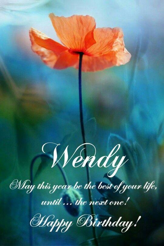 Wendy Happy Birthday Beautiful Birthday Wishes Cool Happy