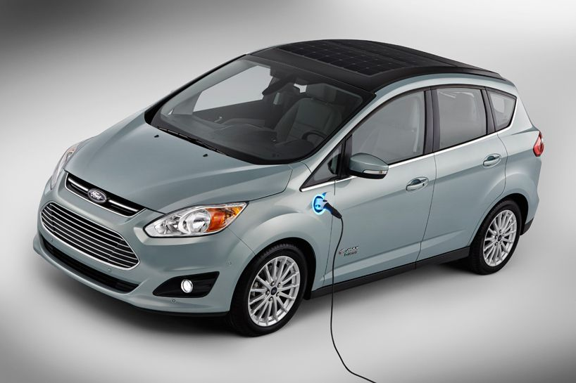 Electric Ford C Max Solar Energi Concept Goes Off The Grid Solar