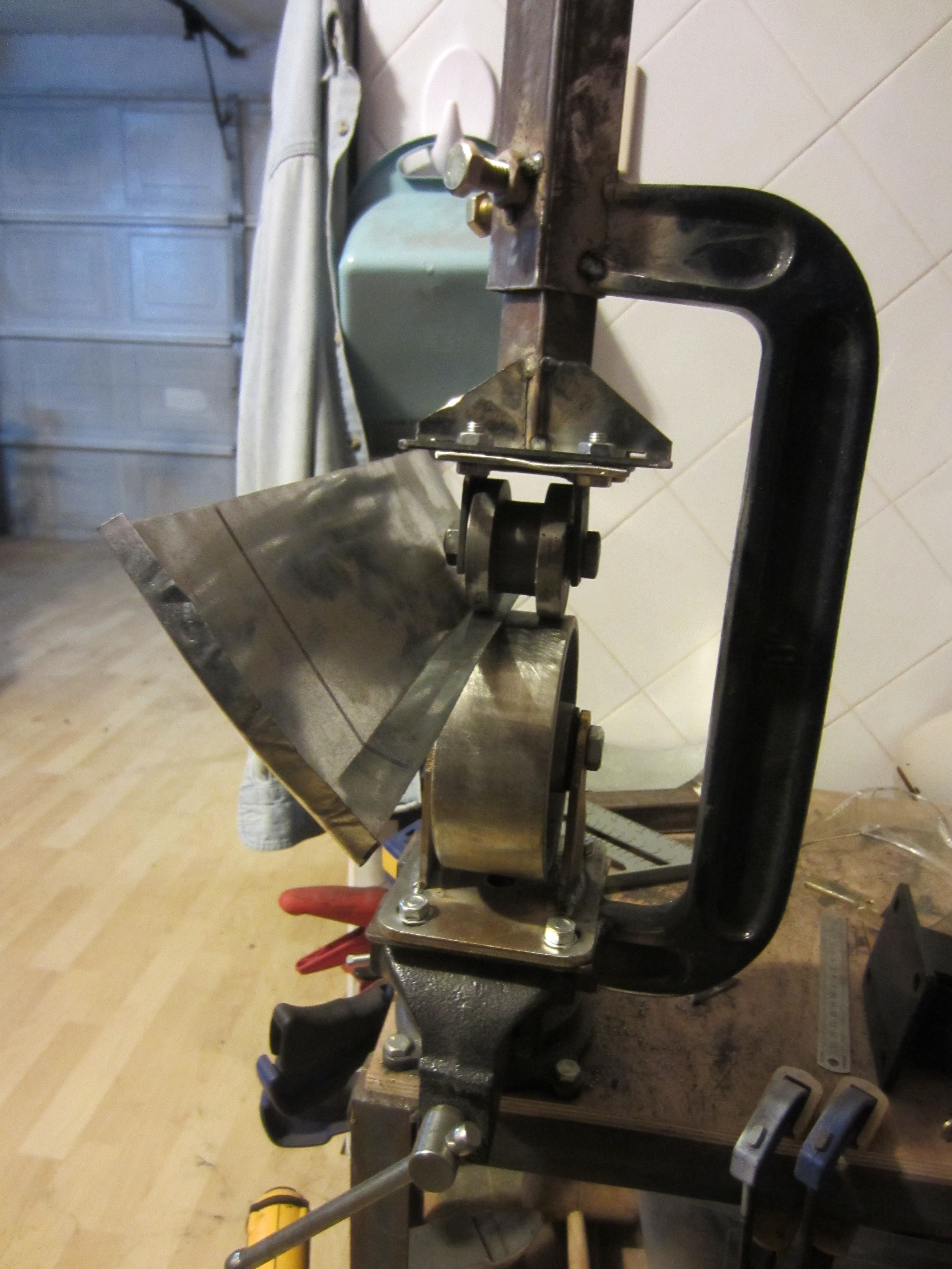English Wheel Kustoms By Kent English Wheel Sheet Metal Fabrication Metal Working Tools