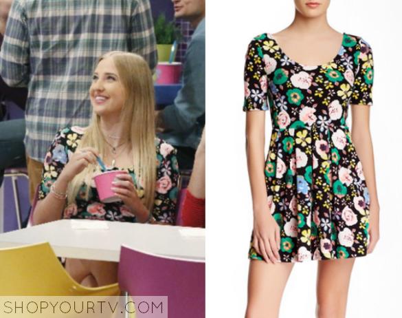 K.C. Undercover: Season 1 Episode 10 Marisa's Floral Dress
