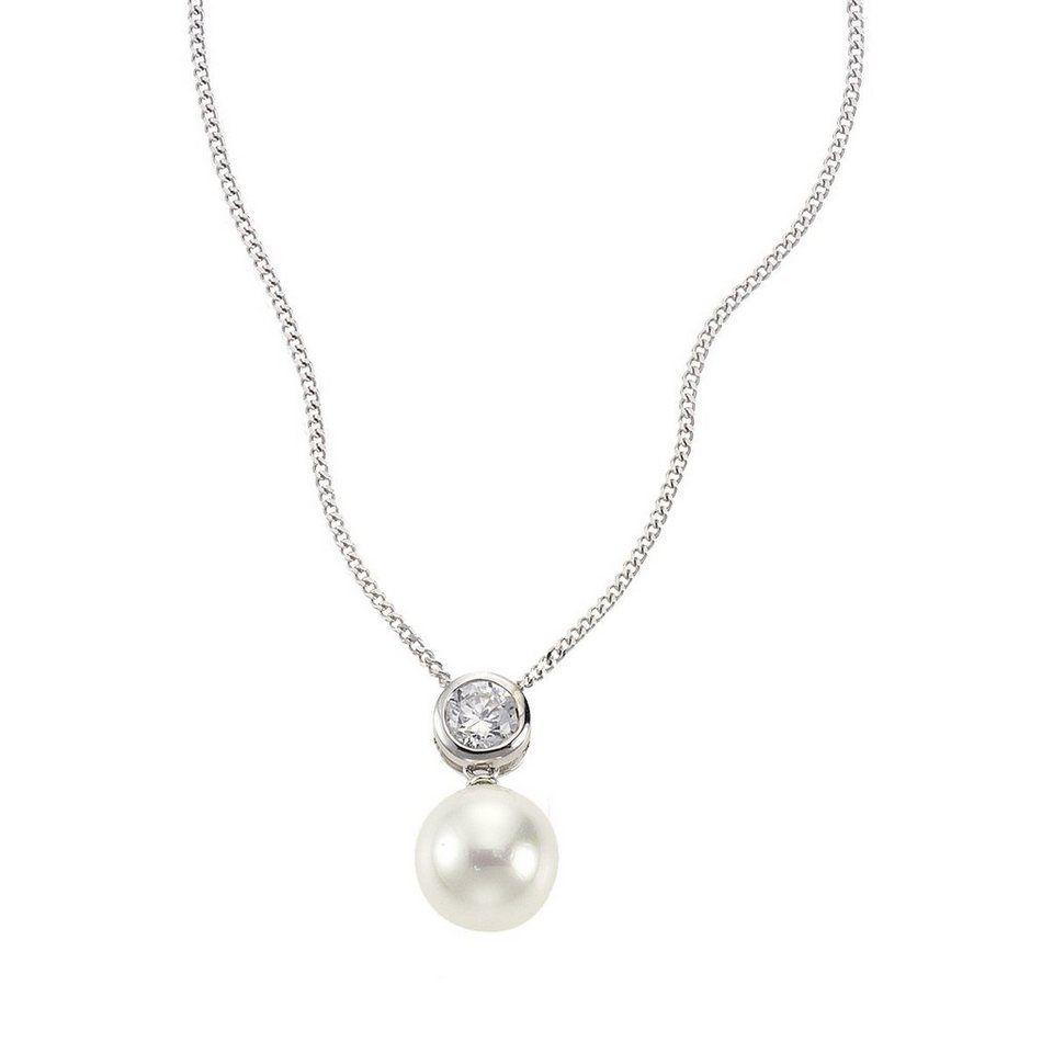 Zeeme Anhänger mit Kette »925/- Sterling Silber Kristall