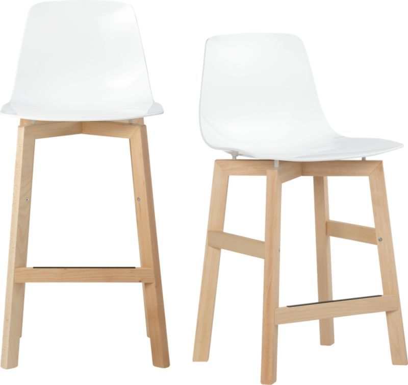 Petite Barstools In Dining Chairs Barstools Cb2 Bar Stools