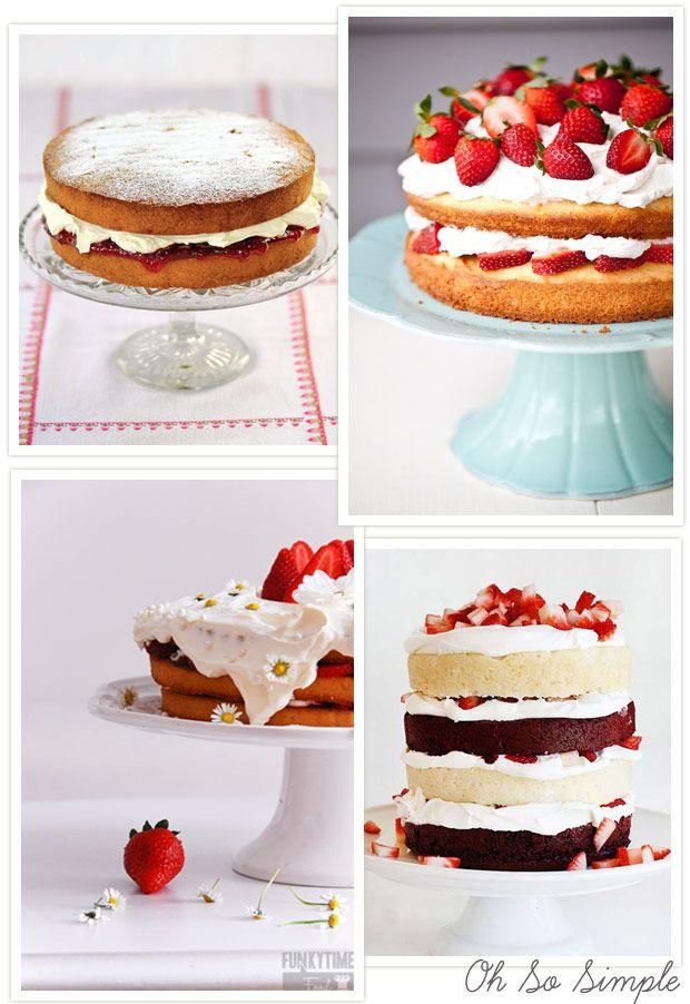 Sponge cake recipe to be iced