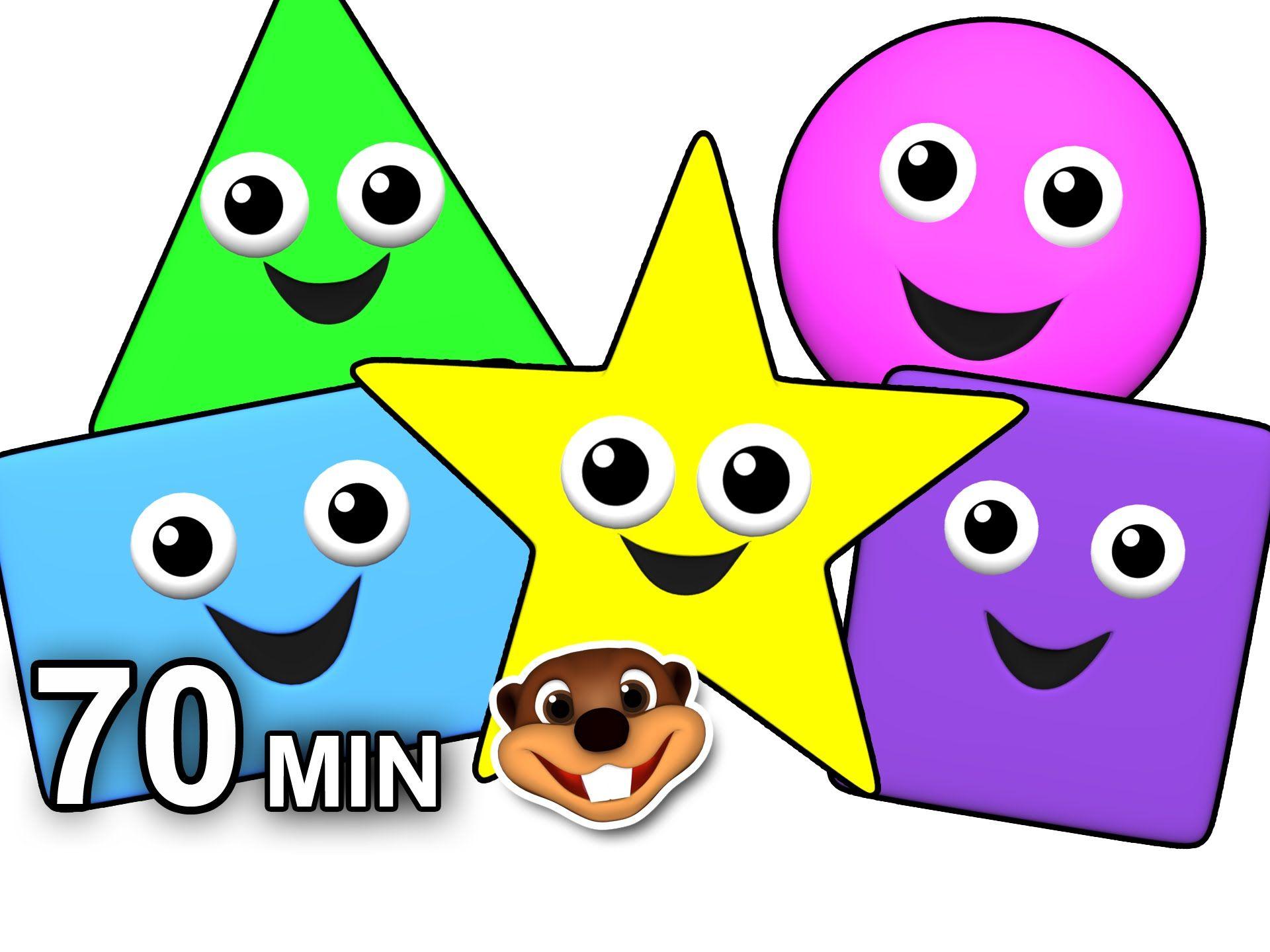 Island Shapes Groove More Vol 1 70 Min Compilation Kids Learn Shapes Preschool Teacher Kedi