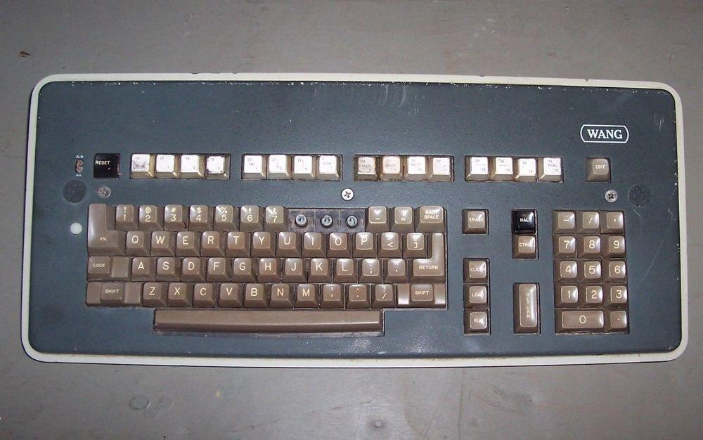 Vintage Wang Computer Keyboard
