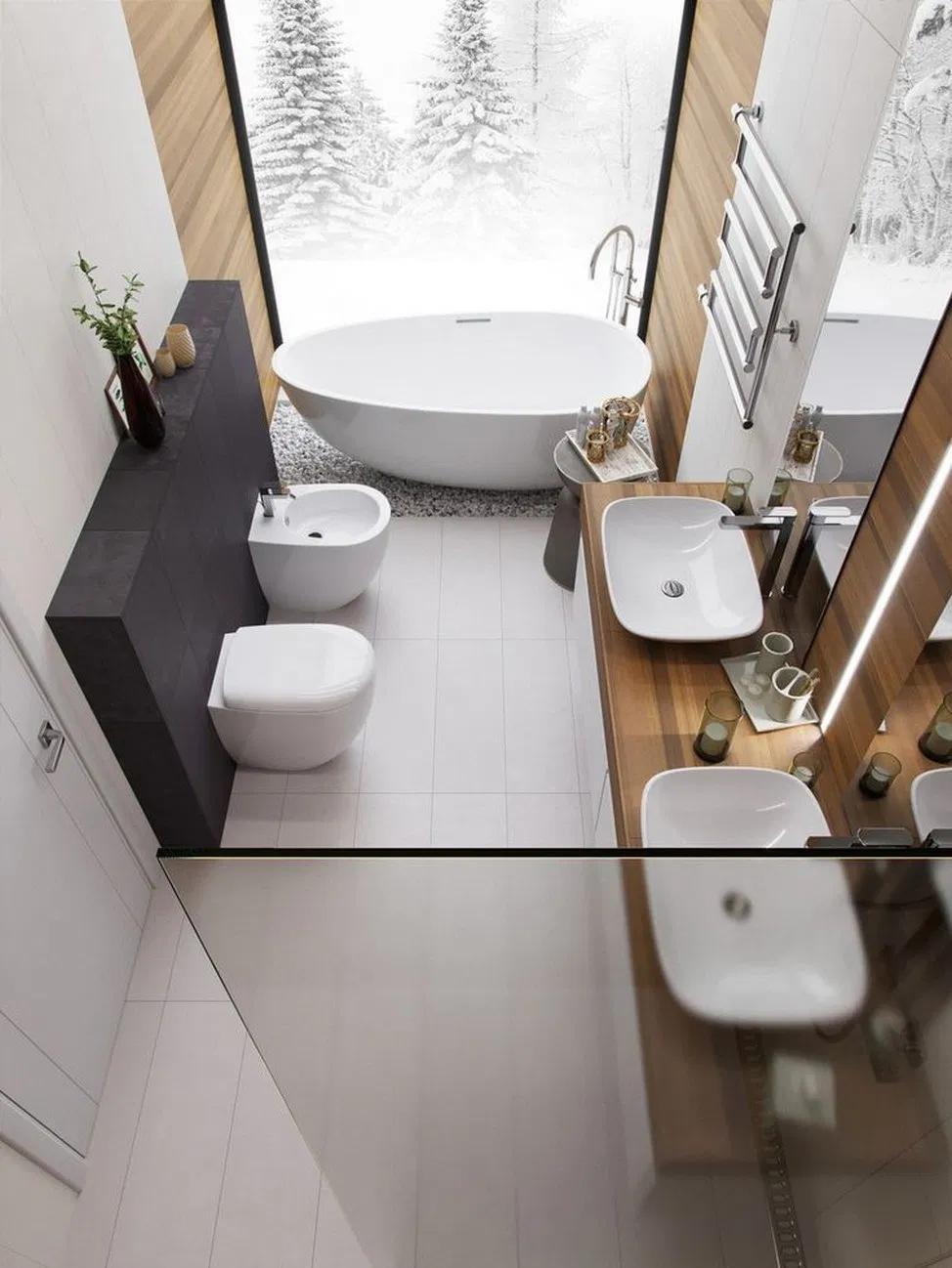 38 principles for creating the perfect bathroom 13   megasiana.com #bathroominte... - Jasmin's