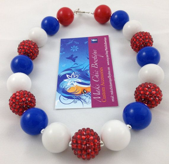 Hey, I found this really awesome Etsy listing at https://www.etsy.com/listing/187588855/girls-red-white-and-blue-rhinestone