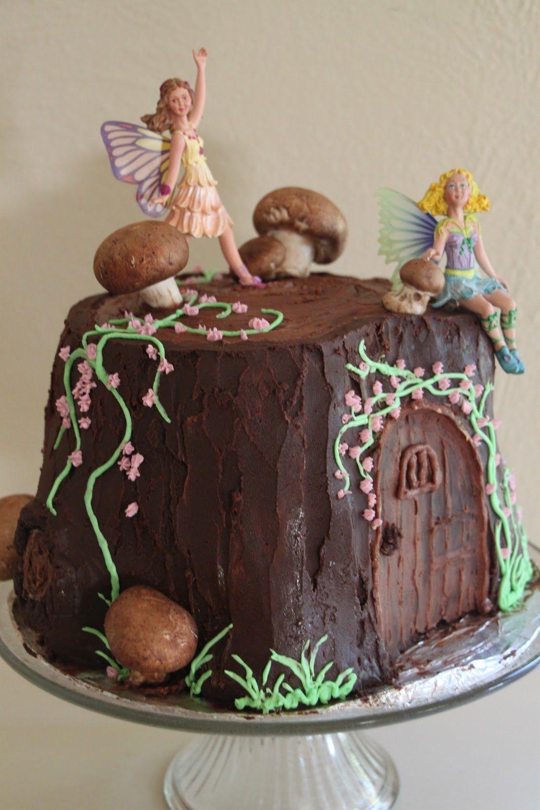 Hello Again With Images Fairy Birthday Cake Fairy Garden