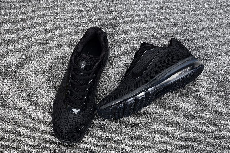 nike 2017 air max triple black