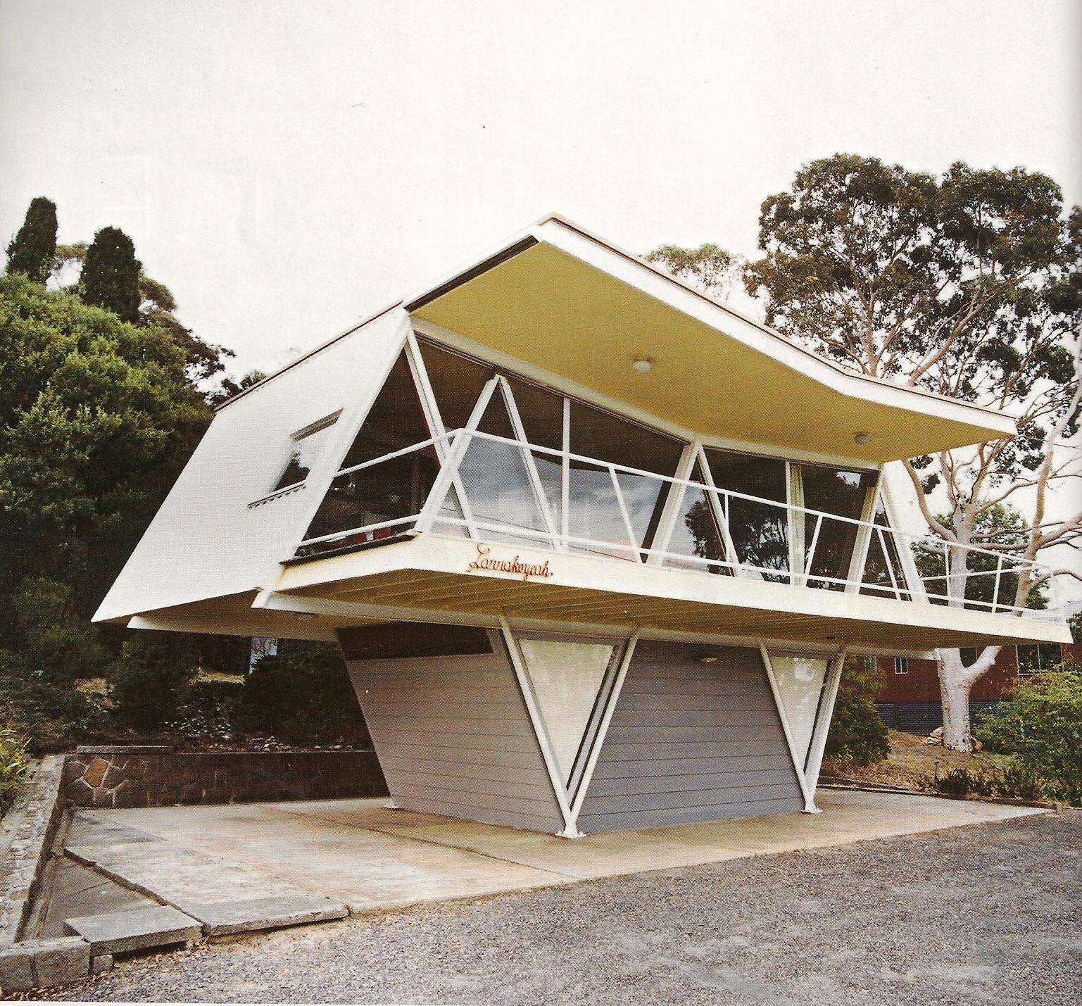 Mid Century Modern Residence: McCraith House (1954) By Chancellor & Patrick, Dromana