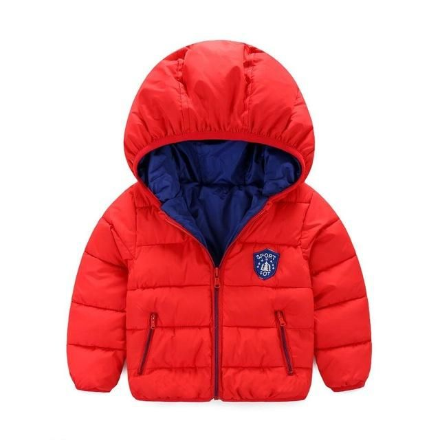 5a9bf08aba76e Baby boys  jacket new fashion children down coat girls down   parkas for  boy duck down jacket