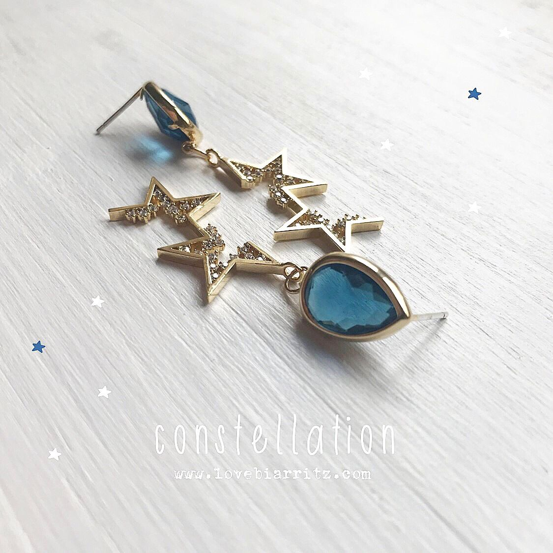 Stars constellation jewelry @lovebiarritz