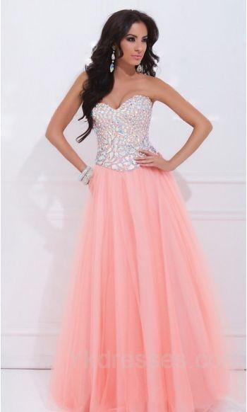 378b7e64a34 Cute A-Line Chiffon Sleeveless Long Natural Prom Dresses Sale ykdress10687