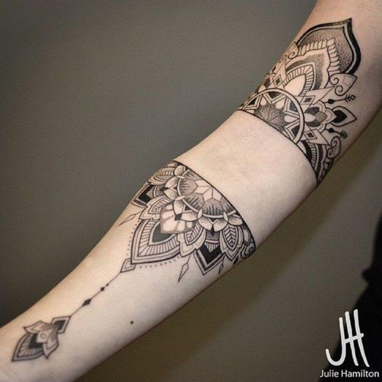 Tatouage Mandala Original Bras Tatouage Tribal Tattoo Art