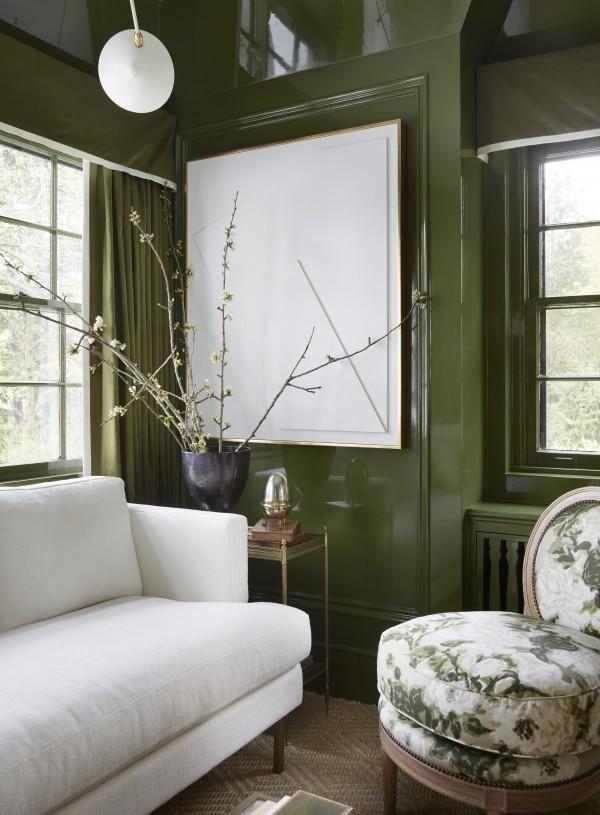 Green Room Garden Design: Living Room Green, Green Rooms