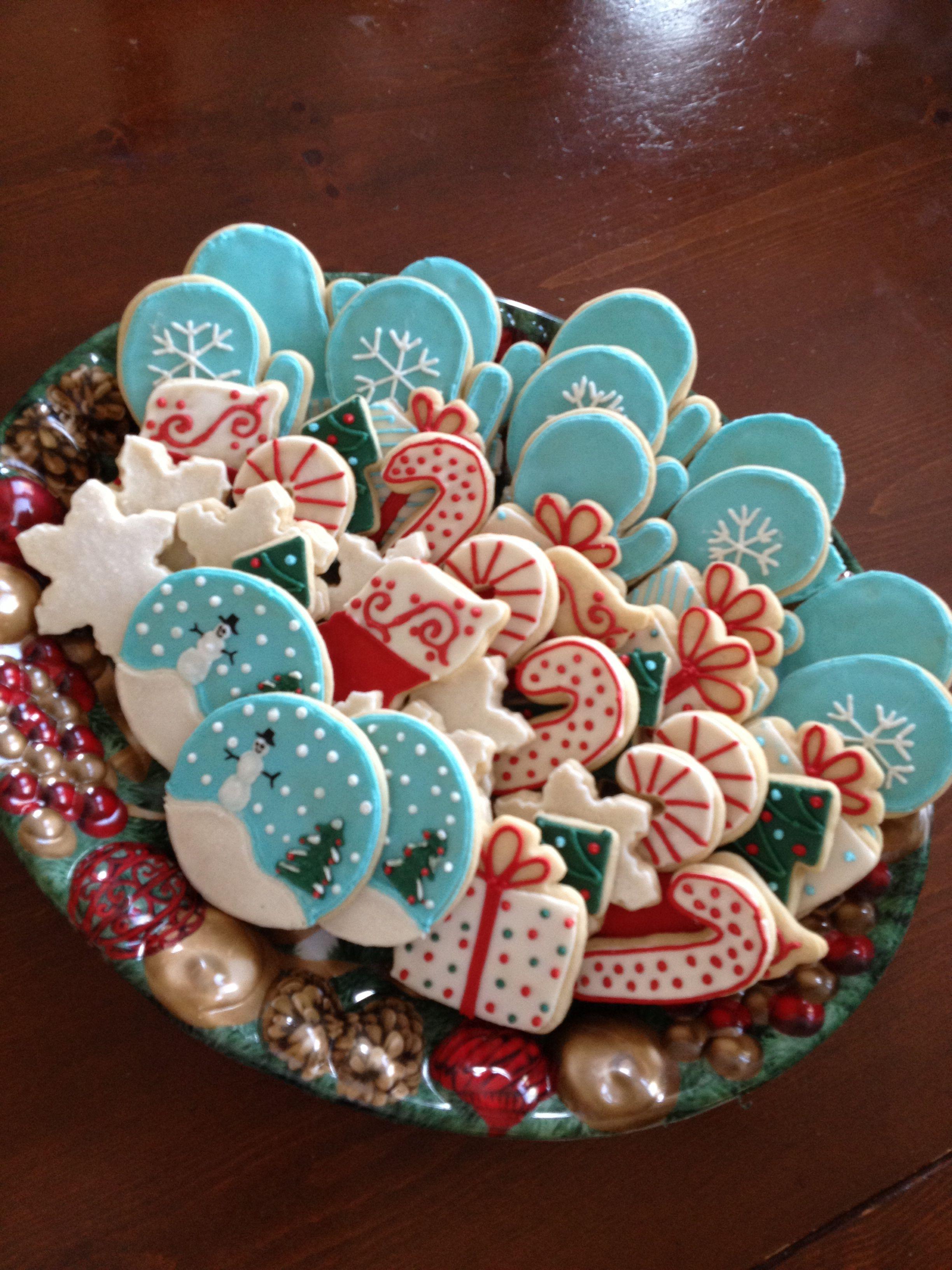 Niki's Beautiful Homemade Christmas Cookies from The