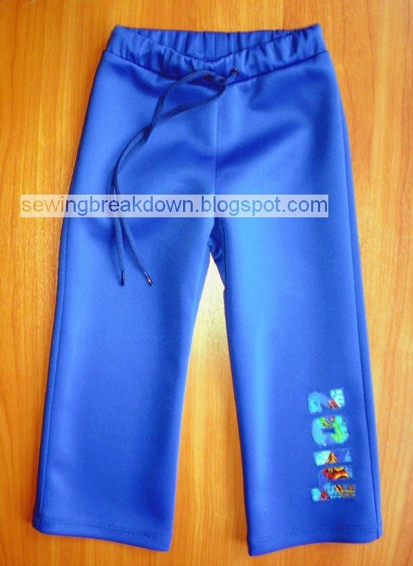 خياطة و تفصيل خطوات خياطة وتفصيل سروال رياضي Athletic Pants Kids Fashion Pants