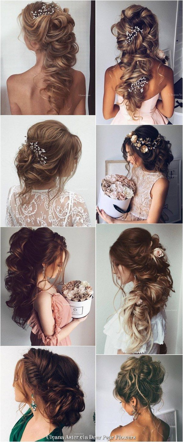 Ulyana aster long wedding hairstyles inspiration ulyanaaster