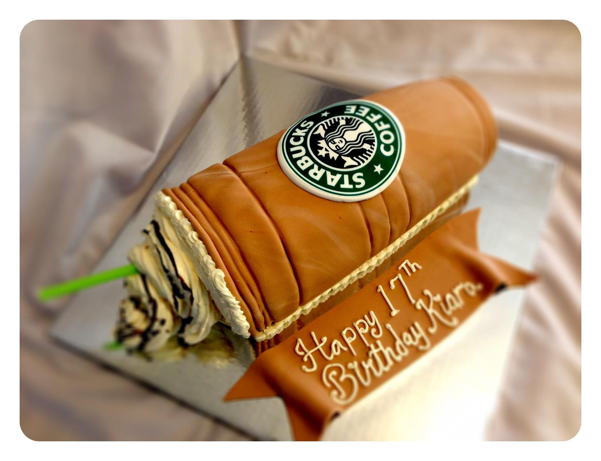 Birthday Cakes Iced Starbucks Coffee All things Starbucks