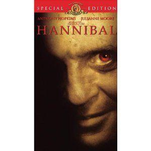 Hannibal [VHS]  Anthony Hopkins ~ Julianne Moore