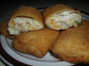 Risoles Isi Rogut Ayam Resep Masakan Indonesia Makanan Dan Minuman Makanan
