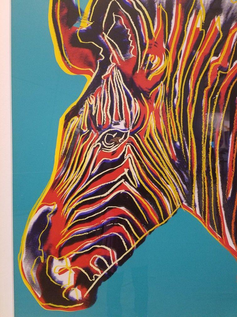 Warhol endangered Species art prints Endangered species