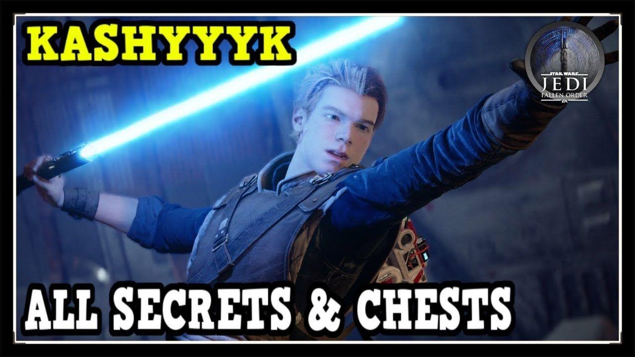 Star Wars Jedi Fallen Order Kashyyyk All Secrets Chests Locations Col Star Wars Jedi Jedi Star Wars Games