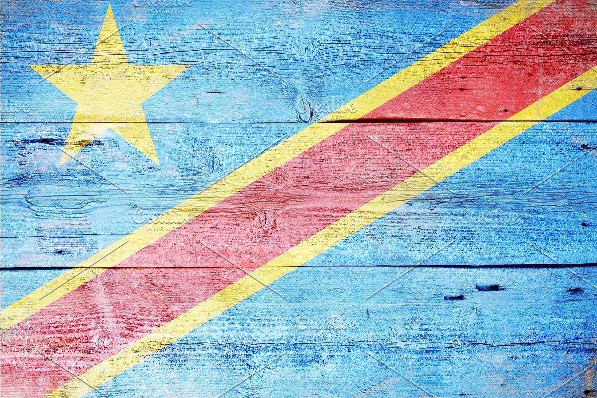 Congo Flag Congo Flag Flag Congo