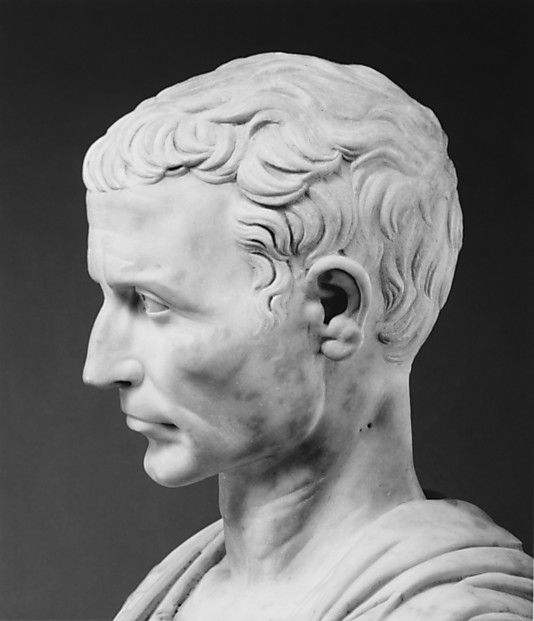 julius caesar side profile