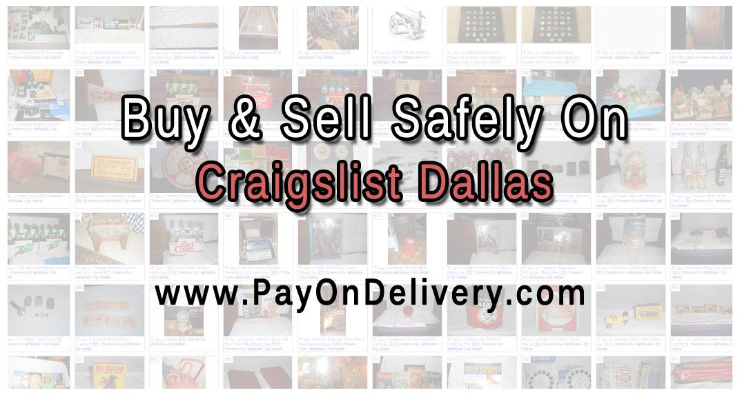 Awesome Deals on Craigslist Dallas https//www