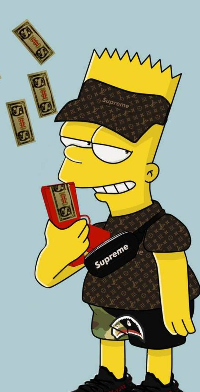 Lil Bart Wallpaper: Pin jsadrianosz   Simpsons art ...