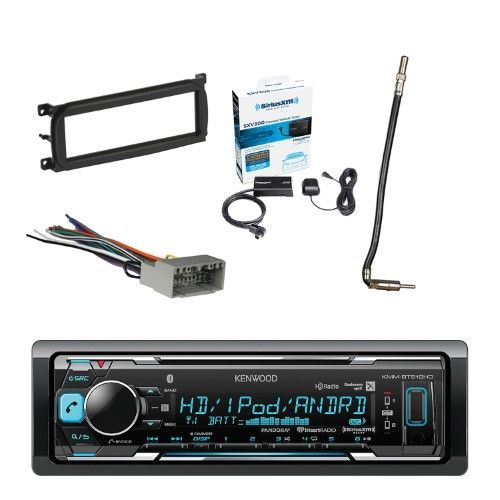 Kenwood InDash Stereo Receiver, Bluetooth, with Sirius