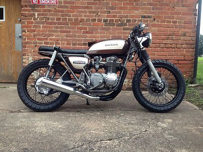 This Is A 550 But I Love The Look Of It Especially The Tires They Are Shinko 705 Series Tires Cafe Racer Honda Bike