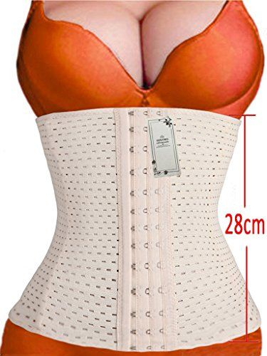 2f736bbe161 SEXYWG Women Waist Trainer Cincher Tummy Slimming Sport Girdle Belly Corset      More details ...