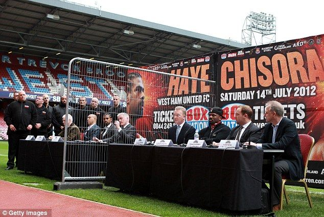 Heavyweight Hate Match between David Haye and Derrick Chisora