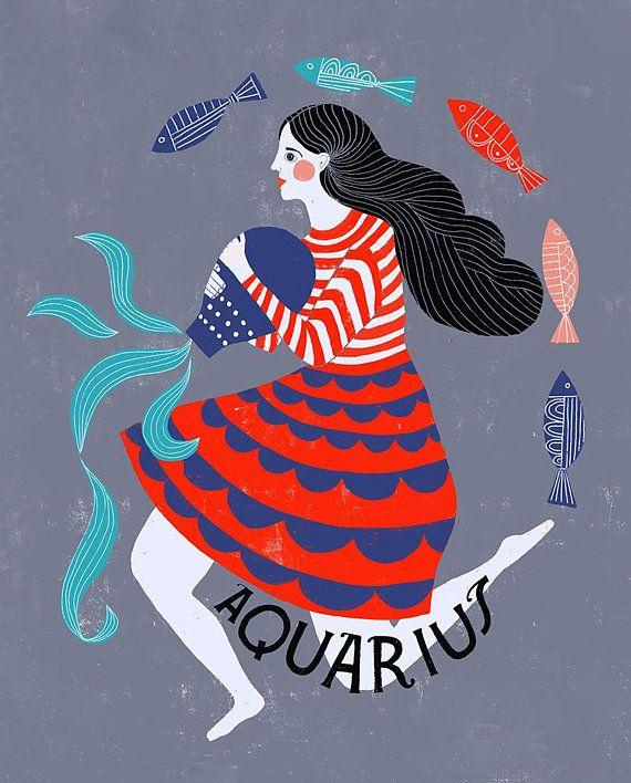 Aquarius, der einen anderen Aquarius datiert