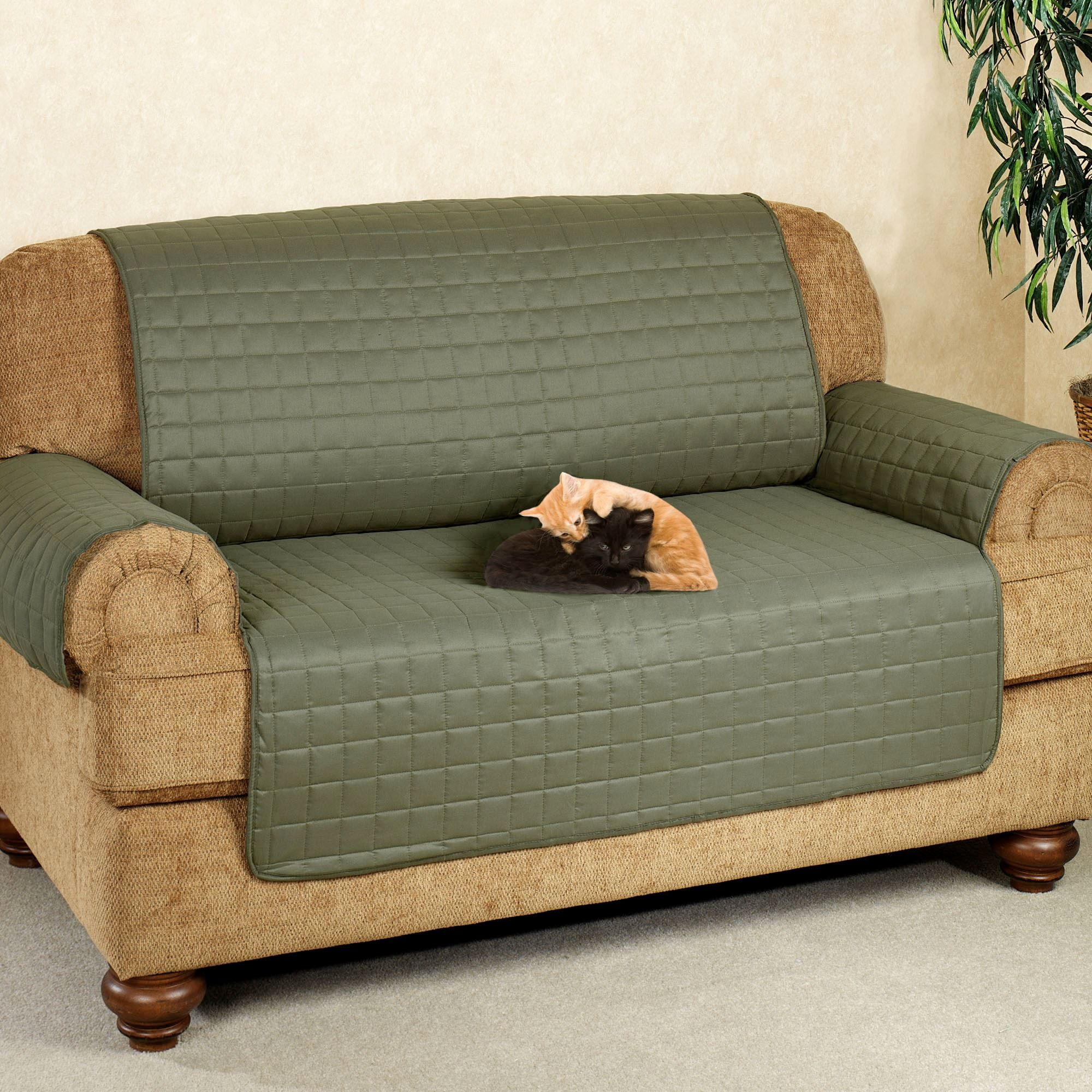 Bon Fresh Scotchgard Microfiber Sofa 001 5 Microfiber Pet Furniture Covers With  Tuck In Flaps