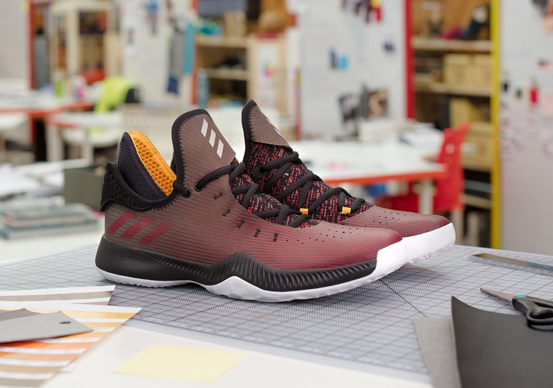 adidas Harden Pensole Academy Lace Up YouTube RED Shoe Design #thatdope # sneakers #luxury