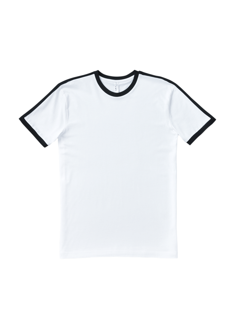Download Men S Cotton Fine Jersey Crew Neck Short Sleeve Soccer Ringer T Shirt From Collegeloungewear Com Collegeloungewear Beco Mens Tshirts T Shirt Mens Outfits