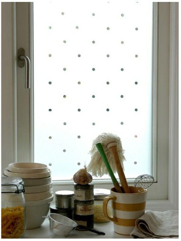 Selbstklebende Fenster Sichtschutzfolie Schicke Fensterdeko
