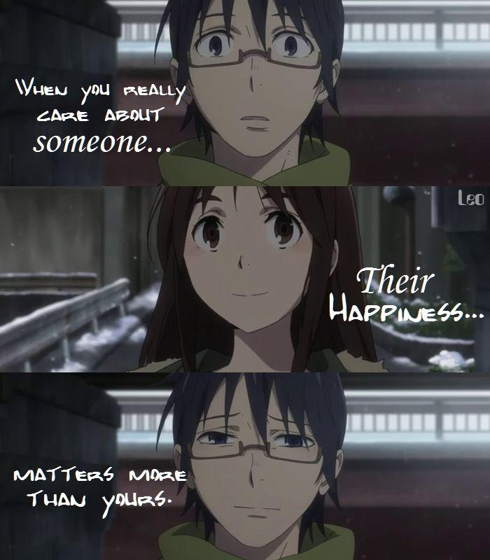 Anime Erased Anime Quotes